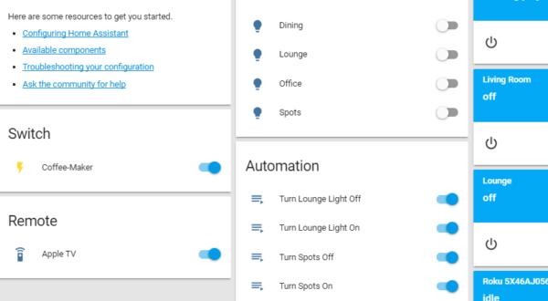 home assistant configuration