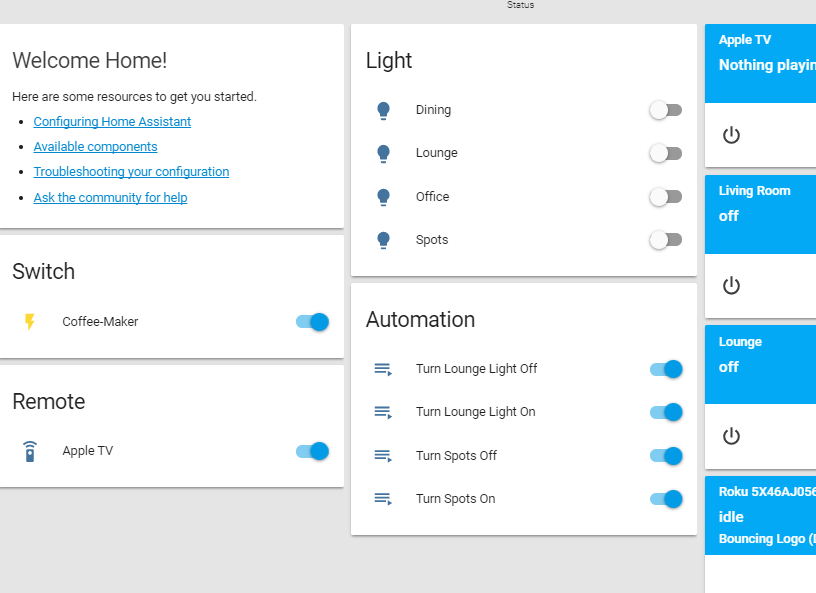 home assistant configuration
