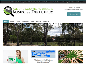 kariongmountains local & business directory