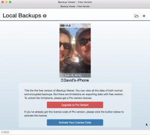 ibackup viewer of iphone backup