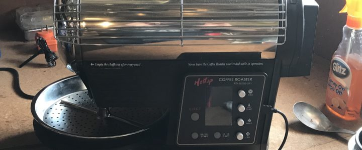 Hottop KN-8828B-2K+ Coffee Roasting in Kariong