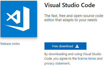 visual studio code download microsoft for tasmota
